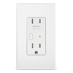 INSTEON Dual Band OutletLinc Dimmer Wall Receptacle