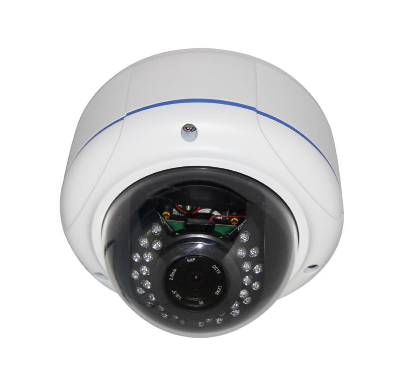 DV-HILV2494R 2.8-12mm Metal Dome IP Camera